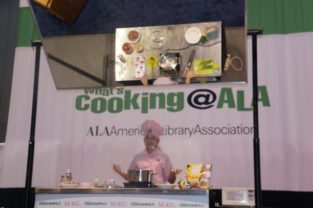 Kid Chef Eliana at the American Library Association Conference June 2013