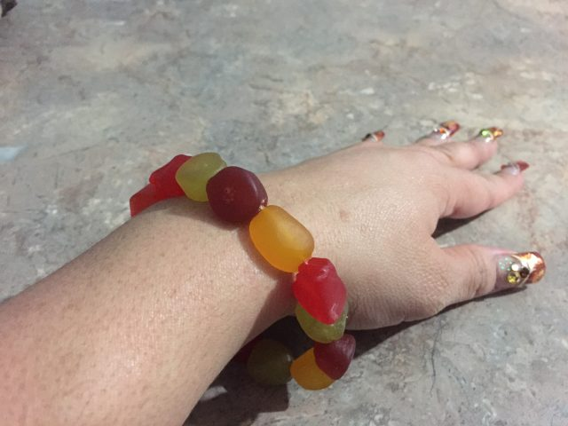 Gummy Fruit Bracelet