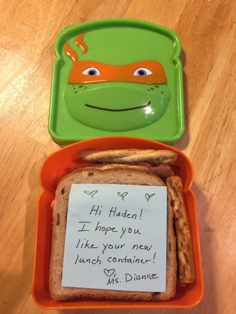 Lunch Container Love Notes
