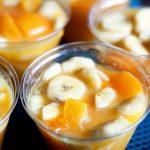 Frozen Fruit Cup Slush