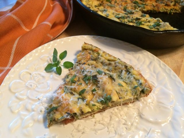 Pepper and Herb Frittata