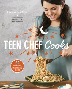 TEEN CHEF Cooks book cover